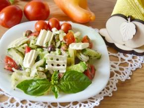 Овощные салаты рецепты с фото греческий