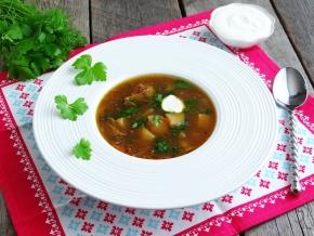 рецепт супа из сухих грибов в мультиварке