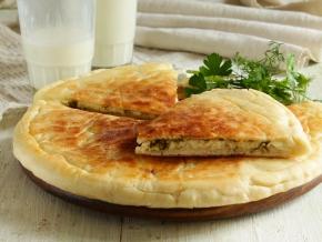 Лепешки с сыром и творогом на кефире на сковороде рецепт — pic 5