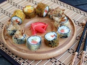 рецепты суши домашние