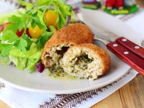 как приготовить котлеты по киевски из курицы в духовке