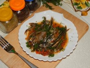 Мойва в пряном маринаде, пошаговый рецепт с фото