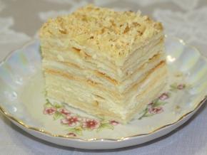 крем для торта для наполеона