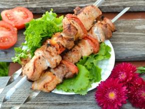 Сочный шашлык из свинины Лучший рецепт маринада | Еда, Кулинария ... | 218x290