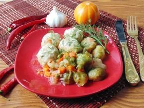 Овощное рагу с тефтелями – кулинарный рецепт