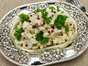 салат дебют рецепт сирдиреем