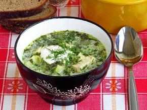 суп из щавеля рецепт с сыром