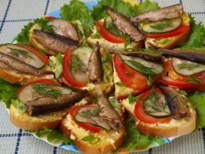 бутерброды для праздника рецепты с фото