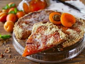 рецепт несложного пирога с абрикосовым вареньем фото