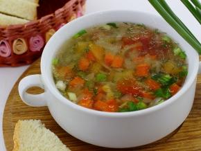 как варить диетический овощной суп рецепт