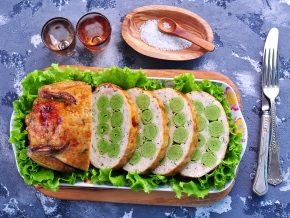Рецепты блинов курицей