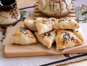 Тесто пресное для самсы, пошаговый рецепт с фото