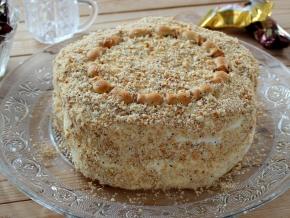 как приготовить холодный торт из печенья