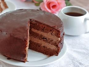 шоколадный торт рецепт фото пошагово