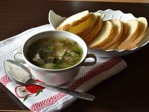 рецепт с фото суп из свежих подберезовиков
