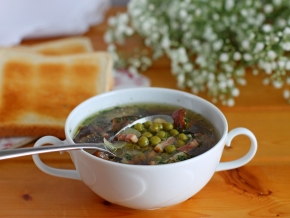 как приготовить польский суп с горошком