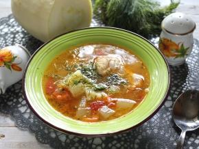 суп из кабачков с мясом рецепт с фото пошагово