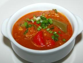 томатный суп с говядиной рецепт в мультиварке