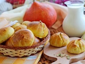 Тыквенные булочки – кулинарный рецепт