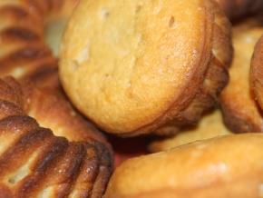 """Творожные кексики """"Незабудки"""" – кулинарный рецепт"""