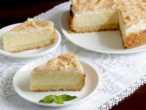 рецепт творожно ягодного пирога с суфле