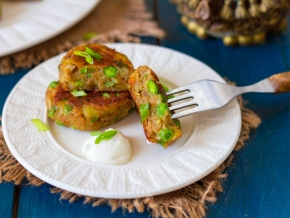 Алу тикки, картофельные котлетки, пошаговый рецепт с фото