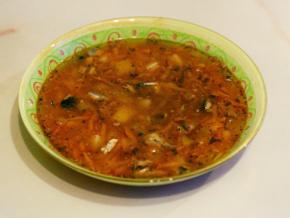 рецепт рыбного супа из сайры консервированной