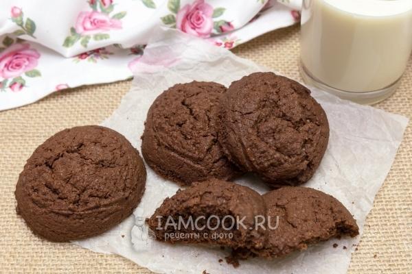 Рецепт печенья с какао
