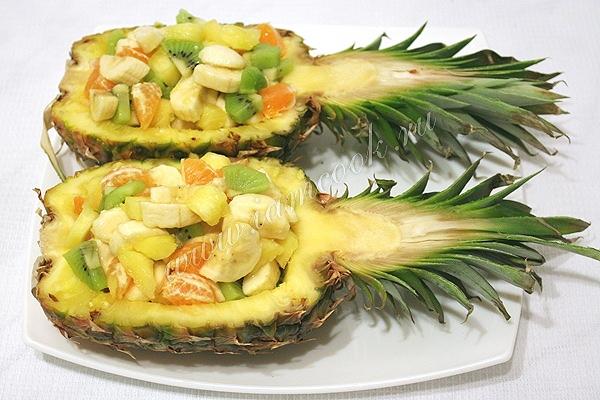 Готовим праздничный фруктовый салат