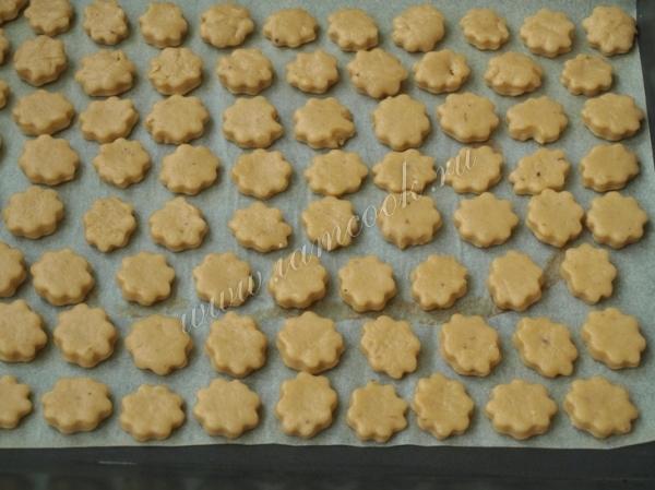 Заготовки для бананового печенья