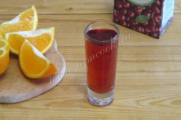 рецепт коктейля ромового заката