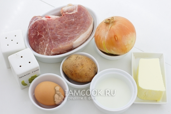 Ирландская картофельная запеканка с мясом, пошаговый рецепт с фото