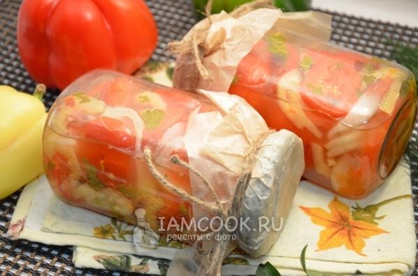 Рецепт салата «Донской» на зиму