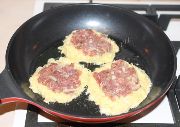 драники картофельные рецепт пошаговый с фото с фаршем