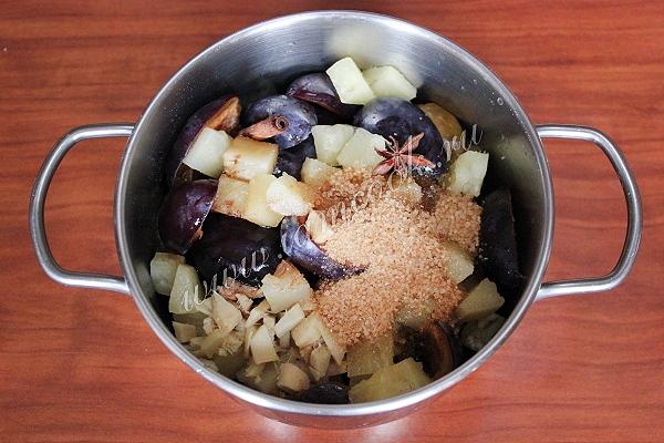Чатни из перца и персиков, пошаговый рецепт с фото