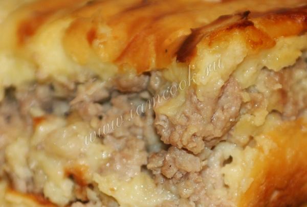 Сметанная заливка для запеканки из картофеля и фарша в духовке — pic 8