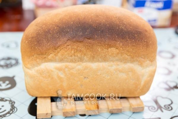 Рецепт белого хлеба на подсолнечном масле