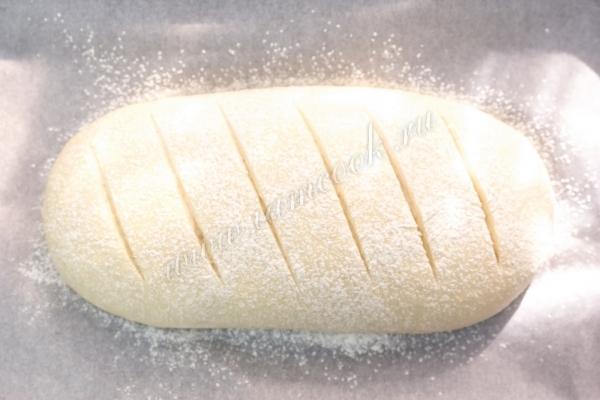 Надрезы на хлебе