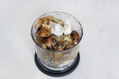 Паштет из творога с чесноком и зеленью, пошаговый рецепт с фото