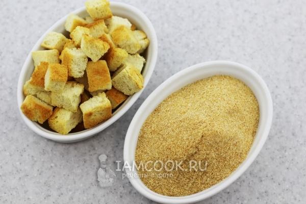 Сухари панировочные - рецепты