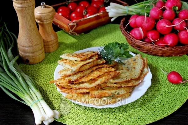 Рецепт блинов из картофеля