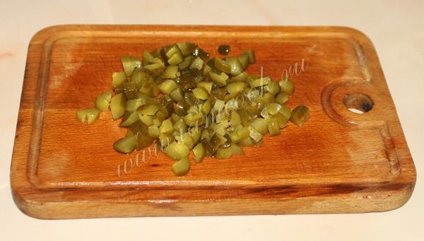 Оливье, пошаговый рецепт с фото