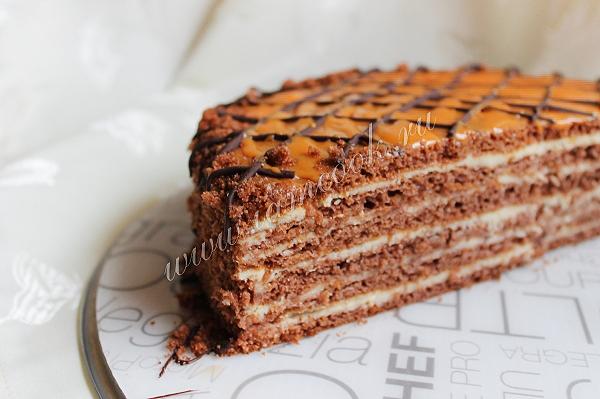 рецепт торт шоколадная девочка