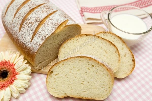 Рецепт быстрого белого хлеба