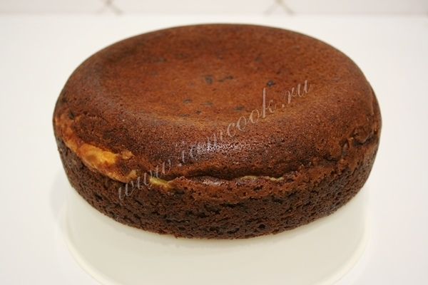 Готовим шоколадный пирог в мультиварке