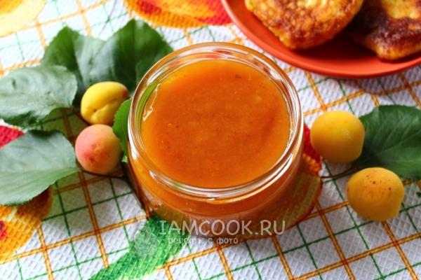 Готовый конфитюр из абрикосов на зиму