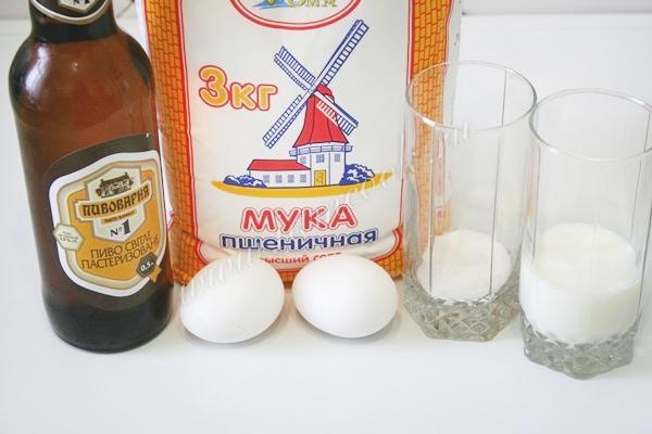 лепешка на пиве - рецепты, статьи на