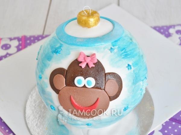 Рецепт торта «Ёлочная игрушка»