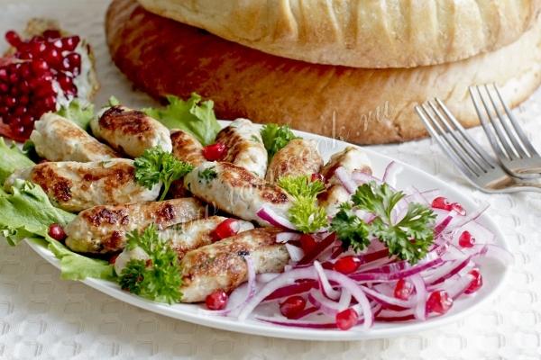 Люля кебаб на сковороде
