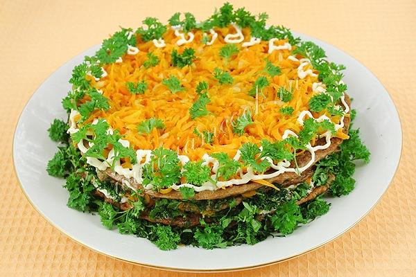 Печеночный торт рецепты калорийность